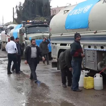 大马士革500万人断水已达三周