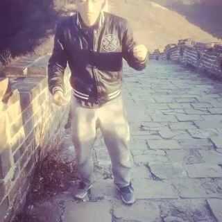 #长城#跳舞 Jezz , go to follow my Instagram : bruce_cap. All fun videos there.