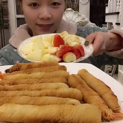吃秀# 面线虾过后来点水果!太完美了😙😙水果用 ...