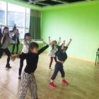 安贝儿十周年舞蹈排练第一节课