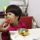 #年年说话##吃货年年##年 三岁#心有多大,嘴容量就有多大👍