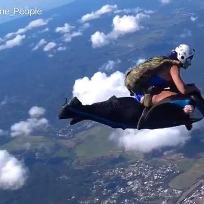 TOP FIVE_ Skateboarding, Wingsuit Rodeo & Handstand Challenge _ PEOPLE ARE AWESOME 2017