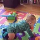 為了吃都學會爬了😂😂😂#男寶寶##7個月又5天#