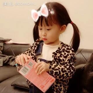 """""""裘姐最漂亮啦"""" 因为想吃什么裘姐都有😂#r熙28个月#+9#宝宝#"""