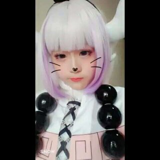 #cosplay##寻找最美coser##康娜#🐍视频里蓝眼睛好不明显哇
