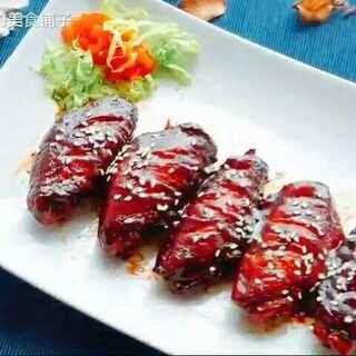 #吃秀##大连老湿王博文#老师也要来做鸡翅啦~超级好吃~