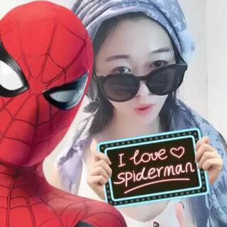 #全民偶遇蜘蛛侠##我要上热门##美拍有嘻哈#I Love spiderman ❤@美拍小助手 @半夏食谱 @四维SWING