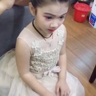 我的小公举#可爱宝宝##最美女神##可爱小花童#