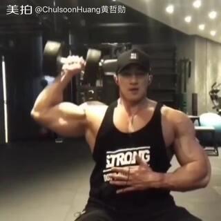 #trainlikeanangel##到底怎么样?##爱健身# shoulder workout