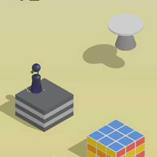 #跳一跳#微信最新小游戏,不喜勿喷。