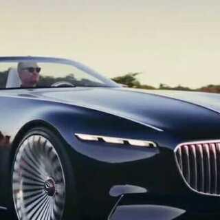 Vision Mercedes-Maybach 6#第一个美拍##汽车##跑车#