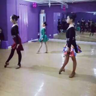 寒假集训~恰恰展示~指导老师~莫凡#拉丁舞恰恰##舞蹈#