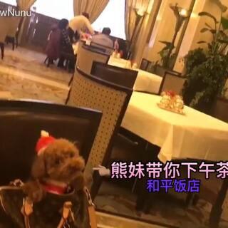 #美妆达熊妞爷##熊妹带你下午茶##和平饭店#@美拍小助手