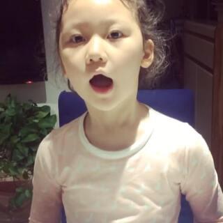 #随手美拍##宝宝学英语##魔力耳朵.21天跟读训练营#第10期 Day2:☁️那片云朵像什么?