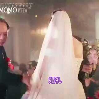 父亲在婚礼上对女婿说:如果有一天你不爱她了 不要跟她说 跟我说 我带她回家。#婚礼#