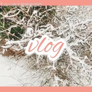我的天呐,我也太高产了吧,今天是一段上班路上的vlog,早上起床发现下大雪了,比手掌还厚呢,虽然很忙碌,但心情有点好喔,为我的第一个vlog点赞吧哈哈#日常vlog##vlog##我要上热门@美拍小助手#