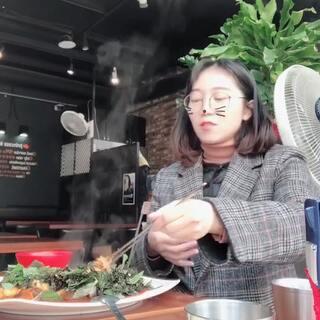 炸猪排,抄血肠#韩国##吃秀##疯狂刷屏大赛#