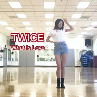 加个hashtag重发一次~~问号舞??#问号舞##twice##what is love?#