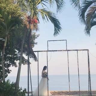 我和你❤️#婚纱##海边婚礼##精选#