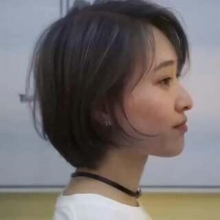 日系短发发型#音乐##宝宝##宠物#