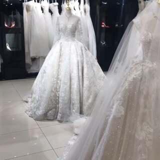 到这都有想结婚的冲动吧#婚纱#