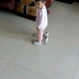#小美女#弟弟居然也要穿👠