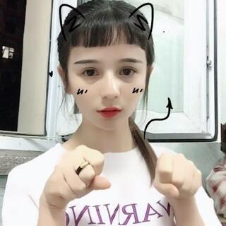 #学猫叫手势舞#喵喵喵@美拍小助手