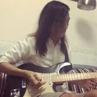 昨晚心血来潮的半夜起来趴《春风十里》#音乐##电吉他solo#