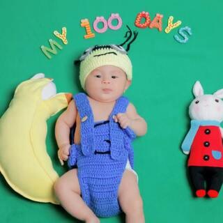 #宝宝##5分钟美拍#去年的这个时候vs今年😂