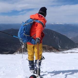 徒步,攀登雪山,露营....我的云南户外独自旅行#我要上热门@美拍小助手##带着美拍去旅行#