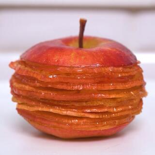 15秒钟教你如何【高逼格】花式吃苹果🍎#精选##美食##甜品#